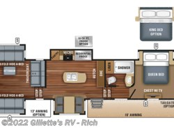 New 2018  Jayco North Point 387RDFS by Jayco from Gillette's RV in East Lansing, MI