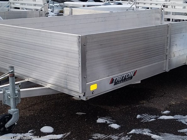 2021 Triton Trailers FIT1472 (6x14) SxS ATV Aluminum Utility Trailer available in Forest Lake, MN