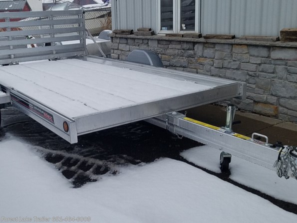 2021 FLOE Versa Max .UT 10.5x79 Aluminum Utility Trailer w/no Sides available in Forest Lake, MN
