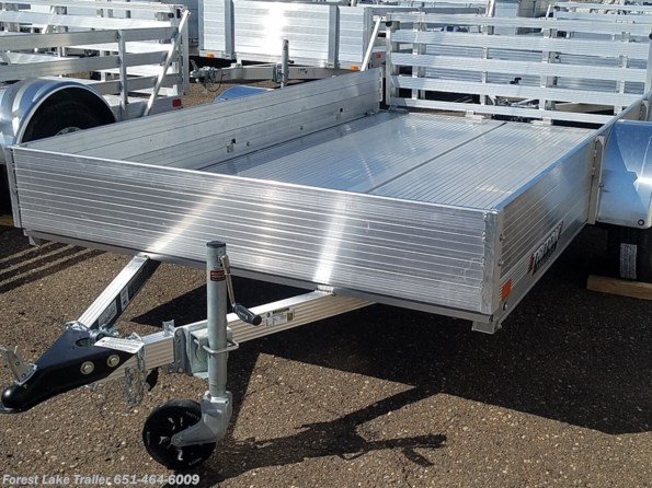 2021 Triton Trailers FIT1072 6x10 Short Solid Side Aluminum Utility Tra available in Forest Lake, MN