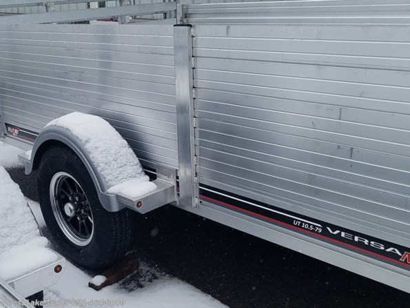 2022 FLOE Versa Max .UT 10.5x79 Aluminum Utility Trailer w/Tall Solid available in Forest Lake, MN