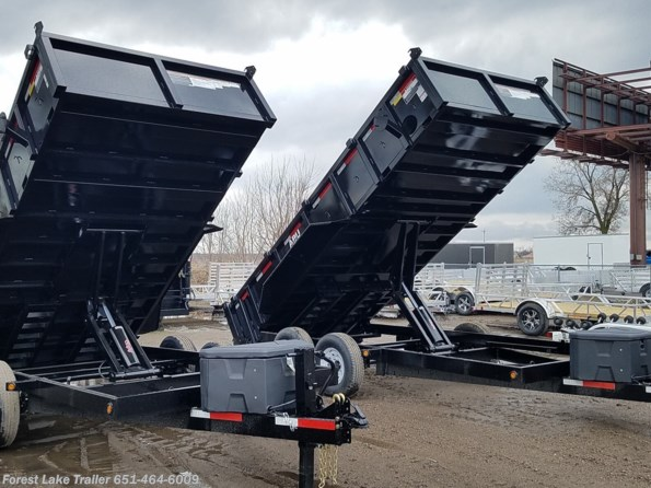 2021 ABU 7x16 14K Dump Trailer available in Forest Lake, MN