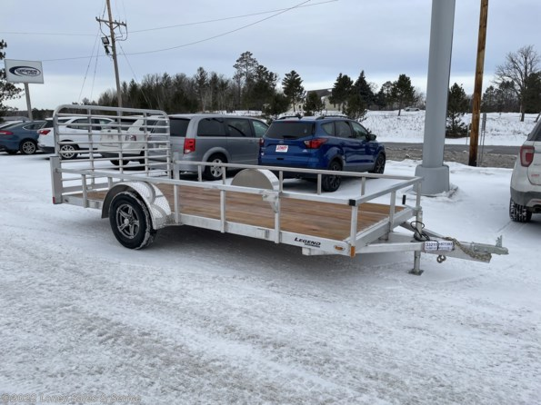 2021 Legend Trailers Legend ALUMINUM OPEN DELUXE 7X14 available in Walker, MN