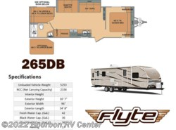 New 2017  Shasta Flyte 265DB by Shasta from Bourbon RV Center in Bourbon, MO