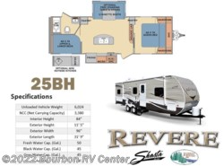 New 2017  Shasta Revere 25BH by Shasta from Bourbon RV Center in Bourbon, MO