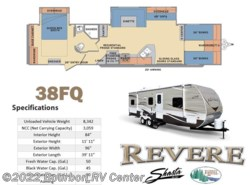 New 2018  Shasta Revere 38FQ by Shasta from Bourbon RV Center in Bourbon, MO