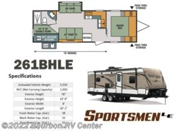 New 2018  K-Z Sportsmen LE 261BHLE by K-Z from Bourbon RV Center in Bourbon, MO