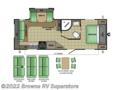 Used 2017  Starcraft Launch Ultra Lite 24RLS by Starcraft from Brown's RV Superstore in Mcbee, SC
