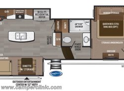 New 2018  Keystone Montana 3121RL by Keystone from Camper Clinic, Inc. in Rockport, TX