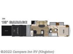 New 2017  Heartland RV Edge 386 by Heartland RV from Campers Inn RV in Kingston, NH