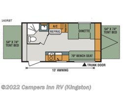 New 2018  K-Z Sportsmen Classic 160RBT by K-Z from Campers Inn RV in Kingston, NH