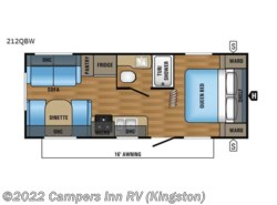 Used 2017  Jayco Jay Feather 213 by Jayco from Campers Inn RV in Kingston, NH