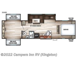 New 2018  Forest River Cherokee 304BS by Forest River from Campers Inn RV in Kingston, NH