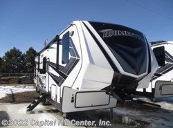 New 2018  Grand Design Momentum 354M by Grand Design from Capital RV Center, Inc. in Bismarck, ND