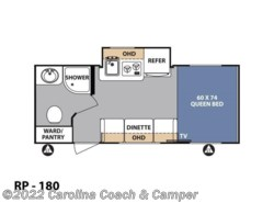 New 2017  Forest River R-Pod RP-180 by Forest River from Carolina Coach & Marine in Claremont, NC