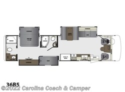 New 2017  Forest River Georgetown 5 Series GT5 36B5 by Forest River from Carolina Coach & Marine in Claremont, NC