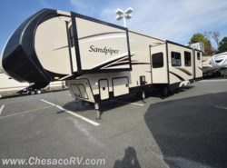 New 2017  Forest River Sandpiper 365SAQB by Forest River from Chesaco RV in Joppa, MD