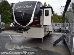 New 2018  Forest River Cedar Creek Champagne Edition 38EL by Forest River from Chesaco RV in Joppa, MD