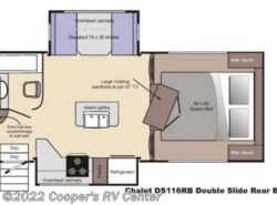 Used 2014  Chalet  Chalet Truck Camper DS116RB by Chalet from Cooper's RV Center in Murrysville, PA