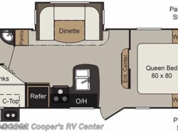 Used 2017  Keystone Passport 2400BH Grand Touring by Keystone from Cooper's RV Center in Murrysville, PA