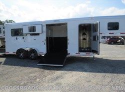 New 2017  Exiss Gooseneck 7200 2+1 w/tack room by Exiss from Crossroads Trailer Sales, Inc. in Newfield, NJ