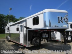 2019 Bison Ranger 8313RGGB Living Quarter Trailer