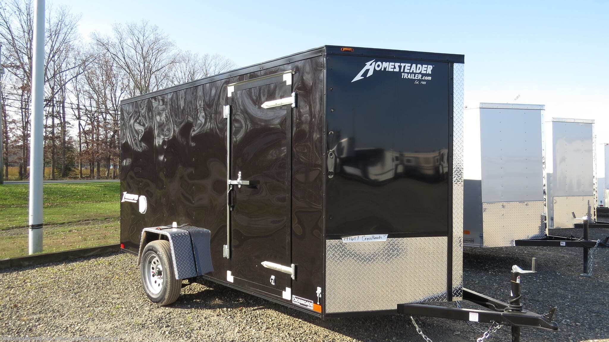 2021 Homesteader Intrepid 7X16 Enclosed Cargo Trailer