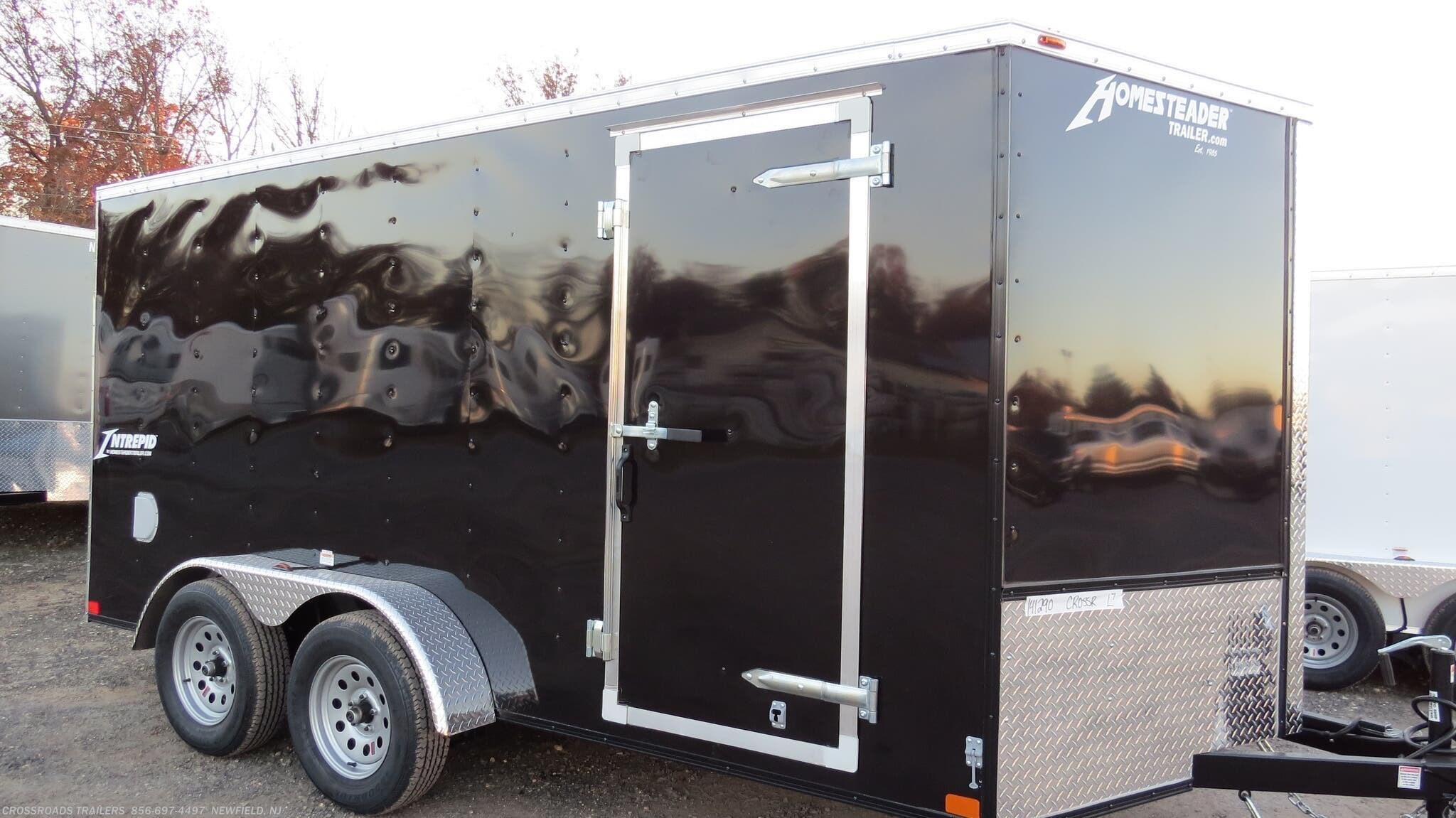 2021 Homesteader Intrepid 7x14 Enclosed Cargo Trailer - Stock #2717