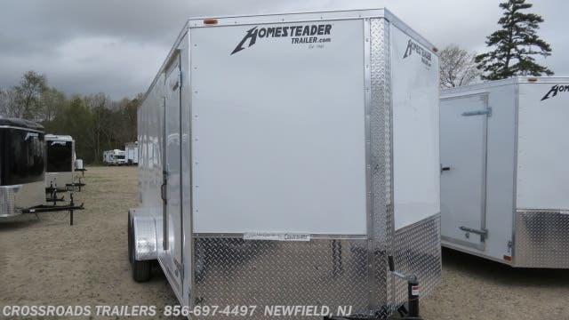 2021 Homesteader Intrepid 7x14 Enclosed Cargo Trailer - Stock #145